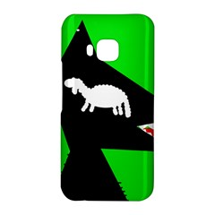 Wolf and sheep HTC One M9 Hardshell Case