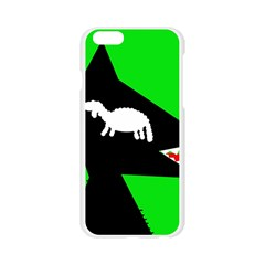 Wolf and sheep Apple Seamless iPhone 6/6S Case (Transparent)