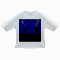 Cat on the roof  Infant/Toddler T-Shirts