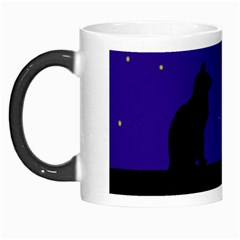 Cat On The Roof  Morph Mugs