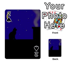 Cat on the roof  Playing Cards 54 Designs