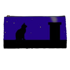Cat on the roof  Pencil Cases