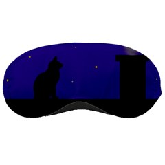 Cat on the roof  Sleeping Masks