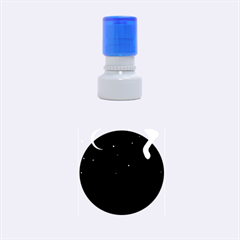 Cat on the roof  Rubber Round Stamps (Small)