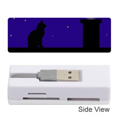 Cat on the roof  Memory Card Reader (Stick)