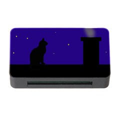 Cat on the roof  Memory Card Reader with CF