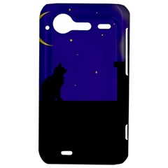 Cat on the roof  HTC Incredible S Hardshell Case
