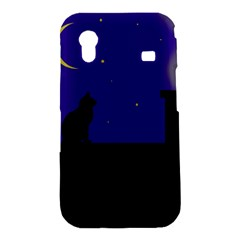Cat on the roof  Samsung Galaxy Ace S5830 Hardshell Case