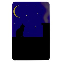 Cat on the roof  Kindle Fire (1st Gen) Hardshell Case