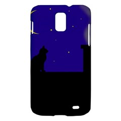 Cat on the roof  Samsung Galaxy S II Skyrocket Hardshell Case