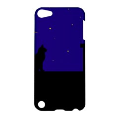 Cat on the roof  Apple iPod Touch 5 Hardshell Case