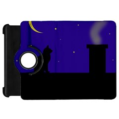 Cat on the roof  Kindle Fire HD Flip 360 Case