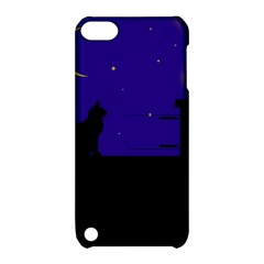 Cat on the roof  Apple iPod Touch 5 Hardshell Case with Stand