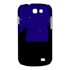 Cat on the roof  Samsung Galaxy Express I8730 Hardshell Case