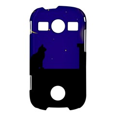 Cat on the roof  Samsung Galaxy S7710 Xcover 2 Hardshell Case