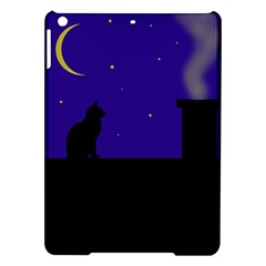Cat on the roof  iPad Air Hardshell Cases
