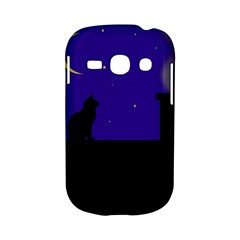 Cat on the roof  Samsung Galaxy S6810 Hardshell Case