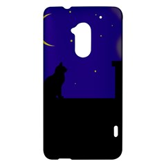 Cat on the roof  HTC One Max (T6) Hardshell Case