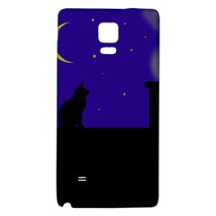 Cat on the roof  Galaxy Note 4 Back Case