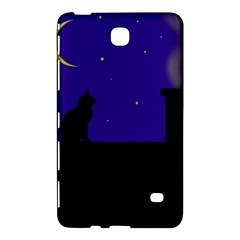 Cat on the roof  Samsung Galaxy Tab 4 (7 ) Hardshell Case