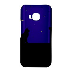 Cat on the roof  HTC One M9 Hardshell Case