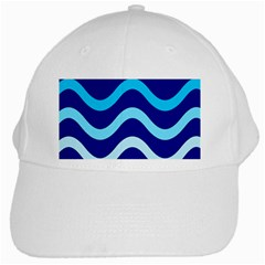 Blue Waves  White Cap