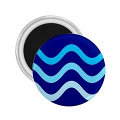 Blue Waves  2 25  Magnets