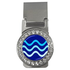 Blue waves  Money Clips (CZ)