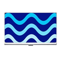 Blue waves  Business Card Holders