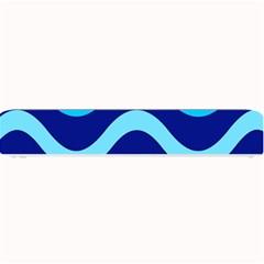 Blue waves  Small Bar Mats
