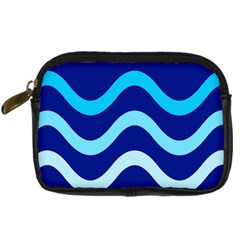 Blue waves  Digital Camera Cases