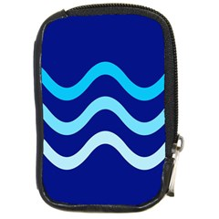 Blue waves  Compact Camera Cases