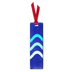 Blue waves  Small Book Marks