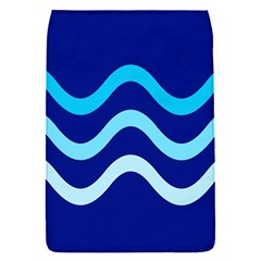 Blue waves  Flap Covers (S)