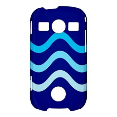 Blue waves  Samsung Galaxy S7710 Xcover 2 Hardshell Case
