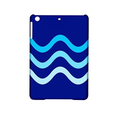 Blue waves  iPad Mini 2 Hardshell Cases