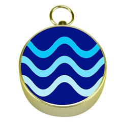 Blue waves  Gold Compasses