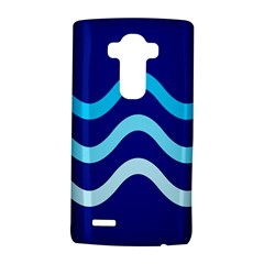 Blue waves  LG G4 Hardshell Case