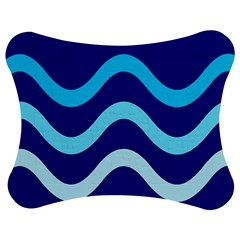 Blue waves  Jigsaw Puzzle Photo Stand (Bow)
