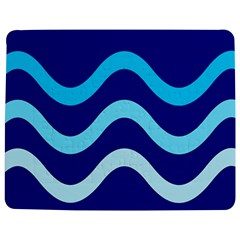 Blue waves  Jigsaw Puzzle Photo Stand (Rectangular)