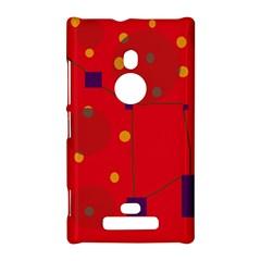 Red abstract sky Nokia Lumia 925