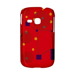 Red abstract sky Samsung Galaxy S6310 Hardshell Case