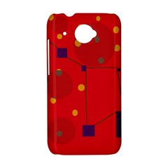 Red abstract sky HTC Desire 601 Hardshell Case