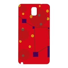Red abstract sky Samsung Galaxy Note 3 N9005 Hardshell Back Case