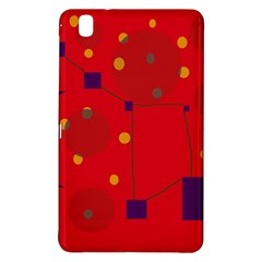 Red abstract sky Samsung Galaxy Tab Pro 8.4 Hardshell Case