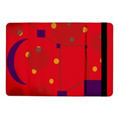 Red abstract sky Samsung Galaxy Tab Pro 10.1  Flip Case