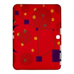 Red abstract sky Samsung Galaxy Tab 4 (10.1 ) Hardshell Case