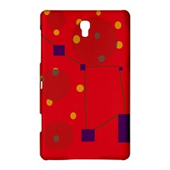 Red abstract sky Samsung Galaxy Tab S (8.4 ) Hardshell Case