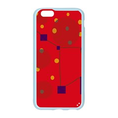Red abstract sky Apple Seamless iPhone 6/6S Case (Color)