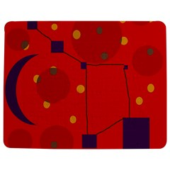 Red abstract sky Jigsaw Puzzle Photo Stand (Rectangular)